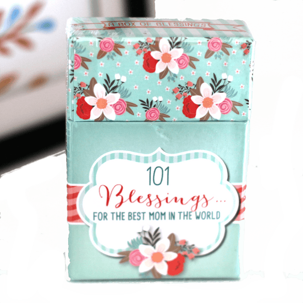 101 Blessings For Mom  - Box of Blessings Inspirational Cards - Ven & Rose