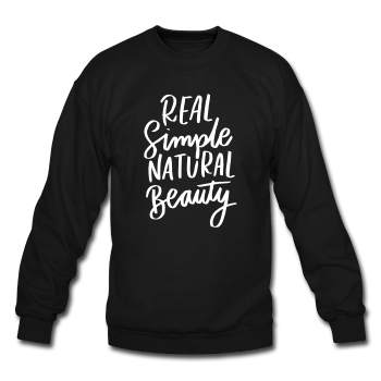 Real Simple Natural Beauty Crewneck ☆CLEARANCE (2 COLORS) - Ven & Rose
