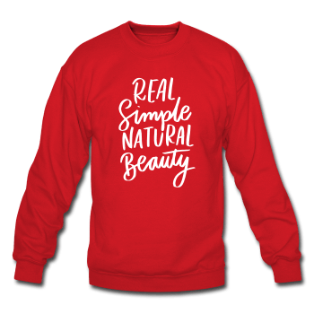 Real Simple Natural Beauty Crewneck ☆CLEARANCE (2 COLORS)