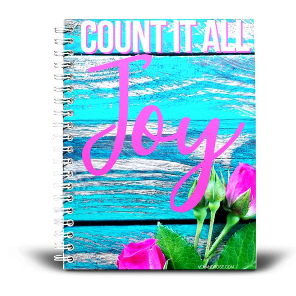 Count It All Joy Journal/Notebook - Ven & Rose