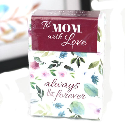 Always & Forever - To Mom with Love - Box of Blessings Inspirational Cards - Ven & Rose