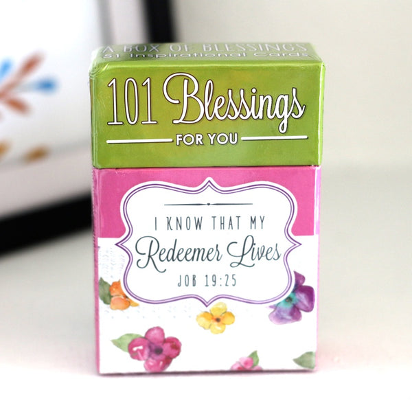 My Redeemer Lives - Box of Blessings Inspirational Cards - Ven & Rose
