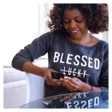 Blessed Sweatshirt - Ven & Rose
