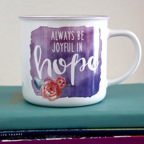 Always Joyful in Hope Camp Mug - Ven & Rose