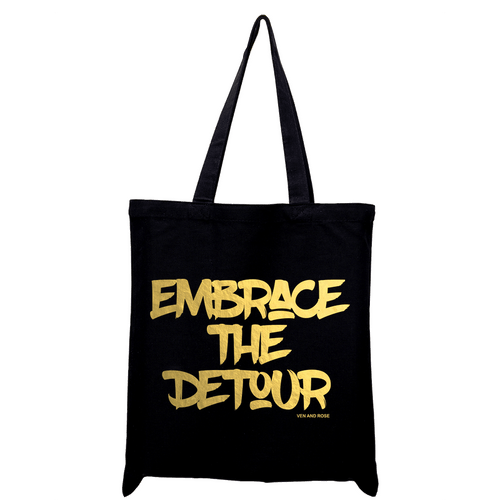 Embrace The Detour Tote Bag