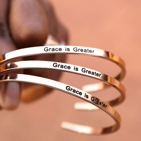 Grace is Greater (Unisex Fit)