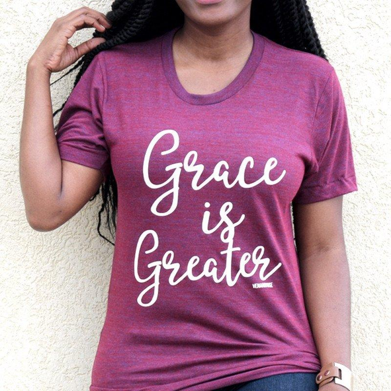 Grace is Greater (Unisex Fit) - Ven & Rose