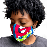 Reusable Fabric Face Mask/Cover *MULTIPLE FABRIC OPTIONS AVAILABLE*
