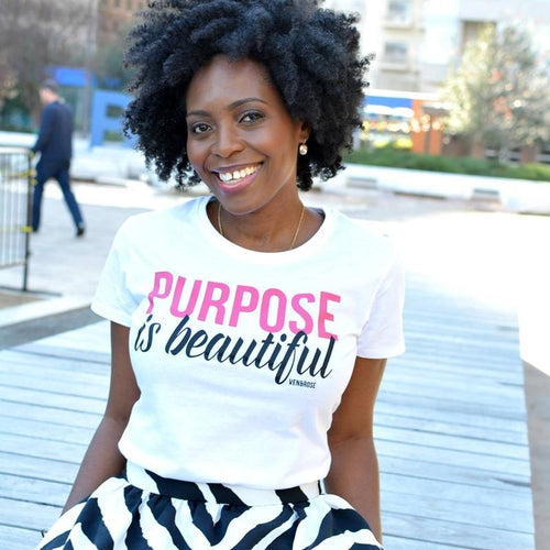 Purpose is Beautiful Tee - Ven & Rose