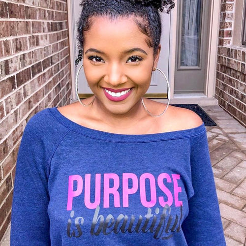Purpose is Beautiful Sweatshirt - Ven & Rose