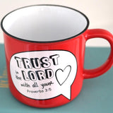 Trust in the Lord - Camp Mug - Ven & Rose