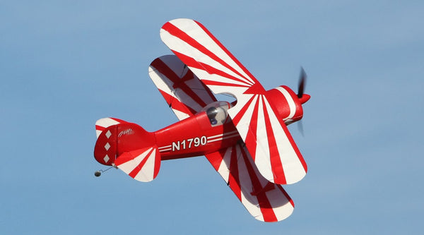 "Eflite UMX Pitts S-1S EDF - Boosted Biplane ""Morgan"" Maiden Flight"