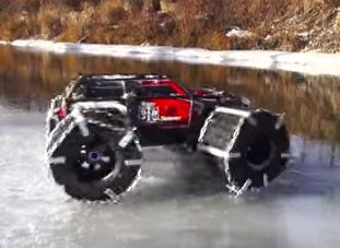 Floating Traxxas Summit