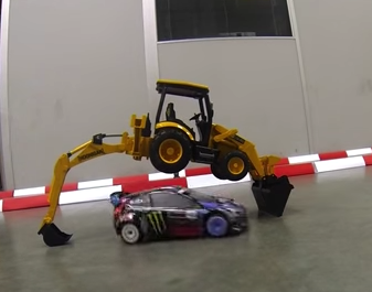 RC Version Of Ken Block's Gymkhana