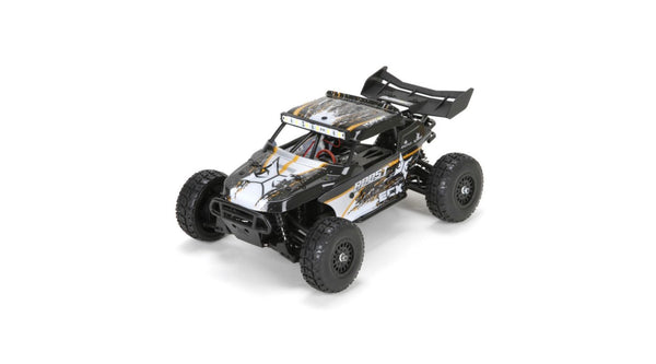 ECX 1/18 Roost 4WD Desert Buggy: Black/Orange RTR - Red Rocket Hobby Shop