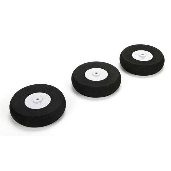 E-Flite Wheels 65mm (3) Apprentice S 15e RTF - Red Rocket Hobby Shop