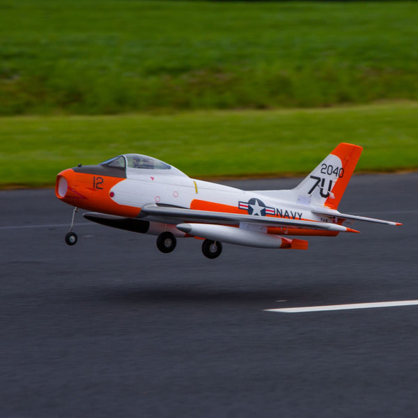 E-Flite FJ-2 Fury 15 70mm EDF Jet BNF Basic with AS3X - Red Rocket Hobby Shop - 1