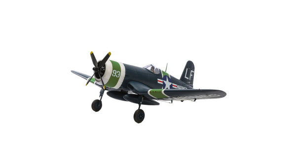 E-flite F4U-4 Corsair 1.2M BNF Basic - Red Rocket Hobby Shop