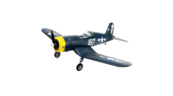 HobbyZone Hobbyzone F4U Corsair S BNF with SAFE - Red Rocket Hobby Shop