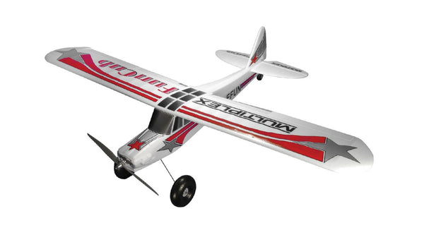 Multiplex Modelsport USA Fun Cub RR (Includes BL Motor, ESC, Servos) - Red Rocket Hobby Shop