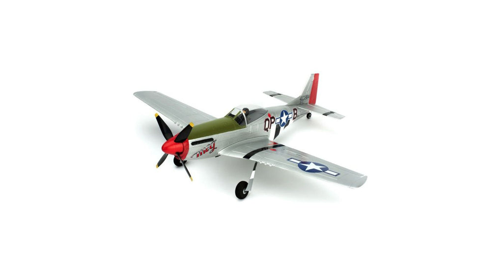ParkZone Ultra-Micro P-51D Mustang BNF with AS3X - Red Rocket Hobby Shop
