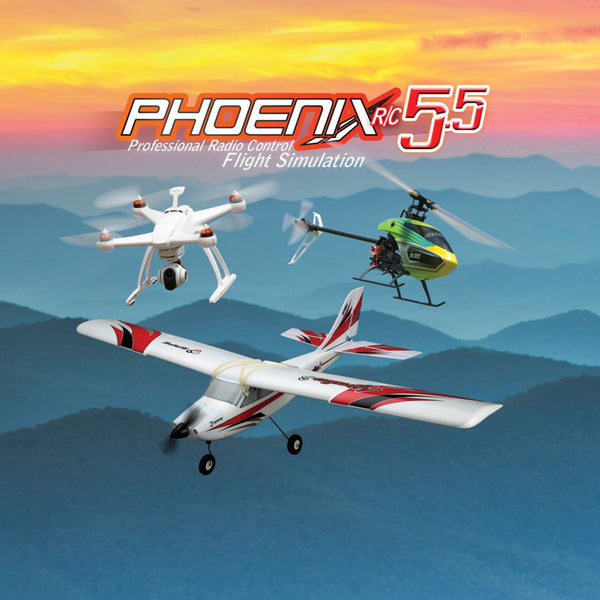Phoenix R/C Pro Simulator V5.5 - Red Rocket Hobby Shop