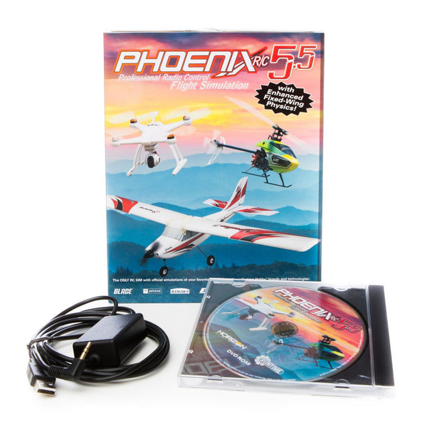 RUNTIME GAMES LTD Phoenix R/C SIM V5.5 - Red Rocket Hobby Shop