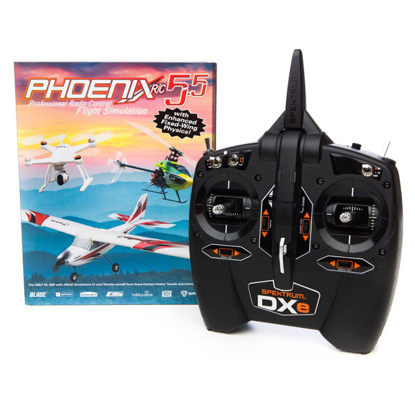 RUNTIME GAMES LTD Phoenix R/C SIM V5.5 w/DXE - Red Rocket Hobby Shop