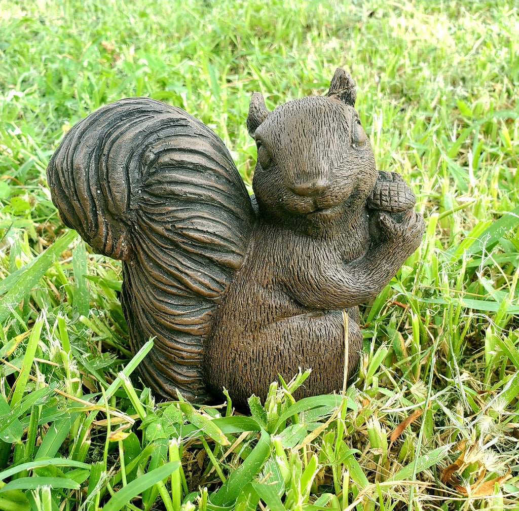 Squirrel Statue Garden Squirrel Keepsake Statue Breast milk statue breastmilk statue