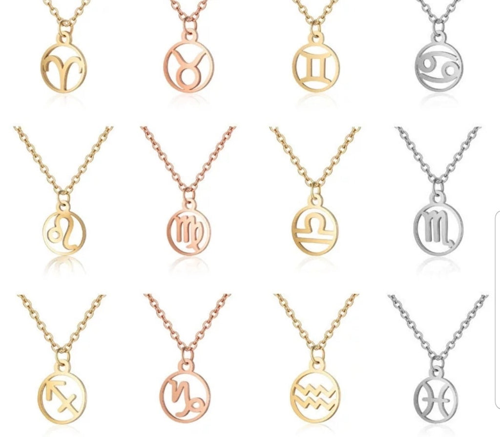 Customizations for Zodiac Charms Necklace