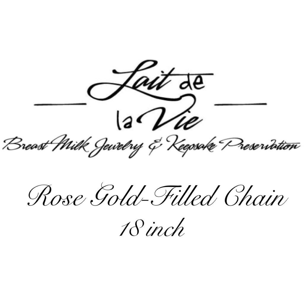 Rose Gold-Filled Chain - 18 inch