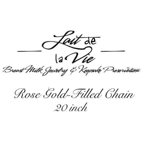 Rose Gold-Filled Chain - 20 inch