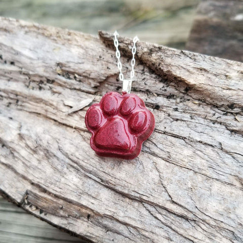 Cub Print Necklace