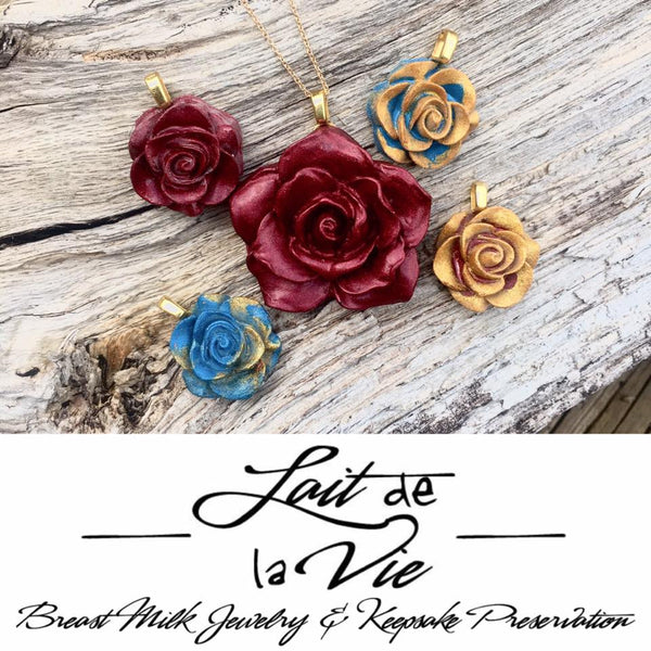 Small Rose Necklace
