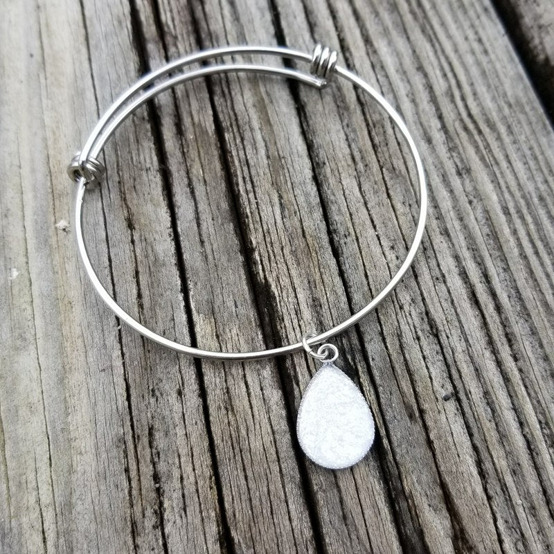 Stainless Steel Milk Drop Bracelet