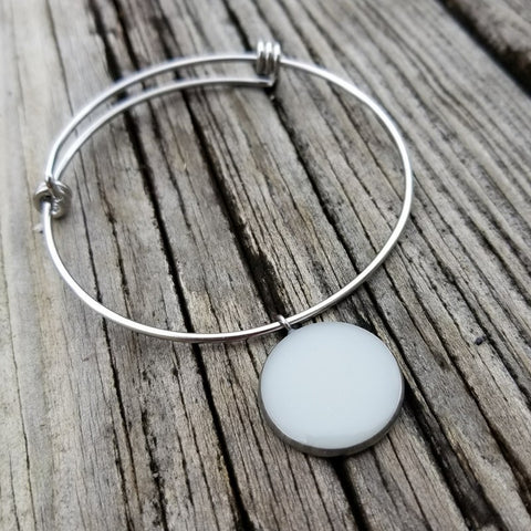 Stainless Steel Circle Bracelet