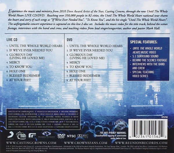 Until The Whole World Hears Live CD/DVD
