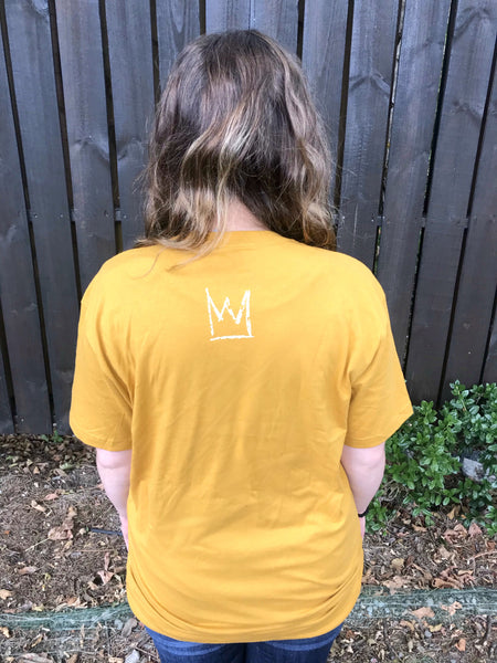 ONLY JESUS Mustard T-Shirt