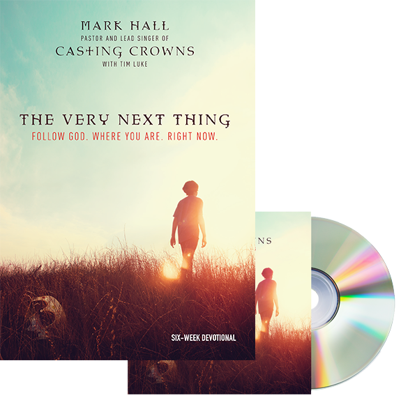 The Very Next Thing CD/Devotional Bundle