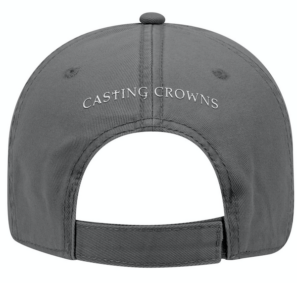 Gray Crown Distressed Hat