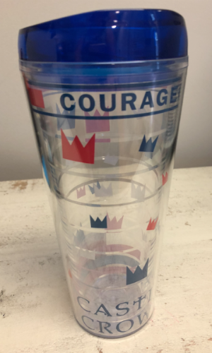 24 oz. COURAGEOUS Tumbler