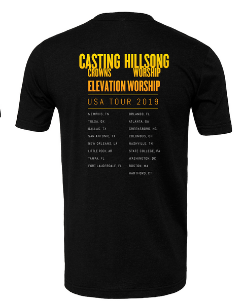 USA 2019 Worship Tour Tee (LIMITED SUPPLY)