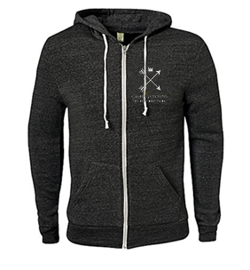 "The Very Next Thing ""Arrow Logo"" Zip Hoodie"
