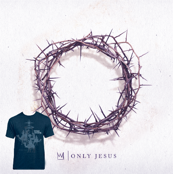 Only Jesus CD/True Story Shirt Combo