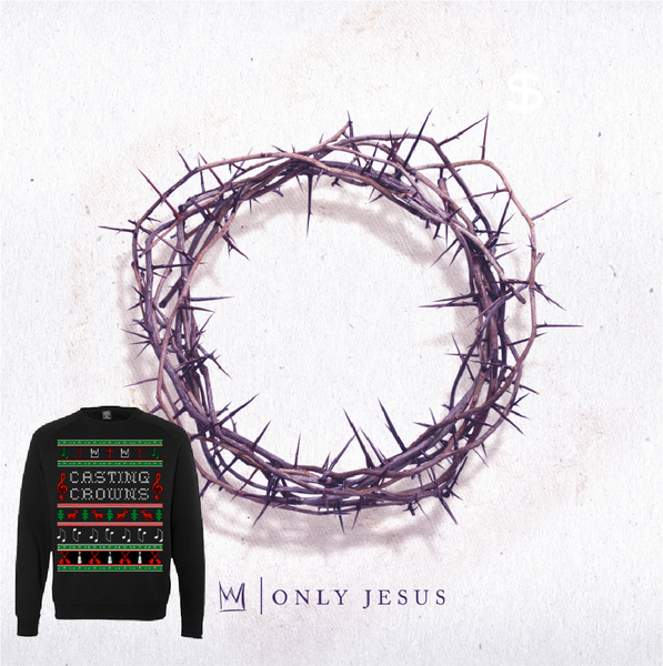 Only Jesus CD/Sweatshirt Combo
