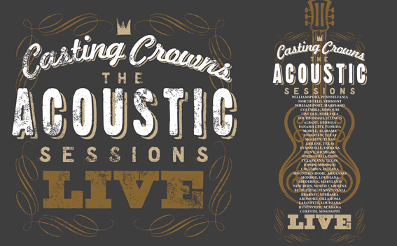 Acoustic Sessions Tour Tee