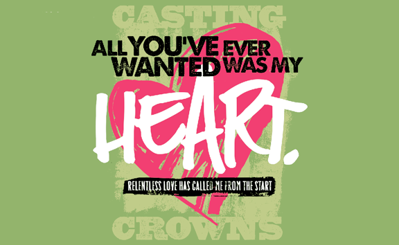 All You've Ever Wanted Ladies Tee - Casting Crowns Online Store