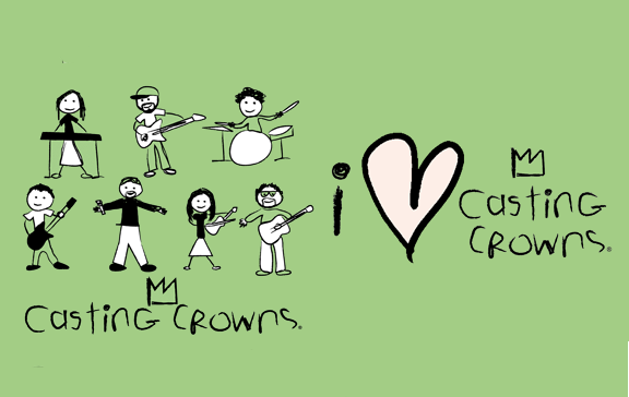 Stick Figure Tee - Casting Crowns Online Store