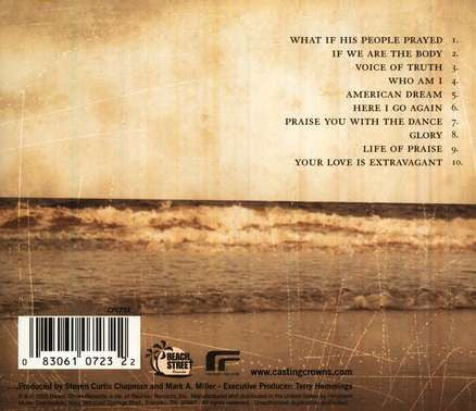 Casting Crowns Self-Titled CD