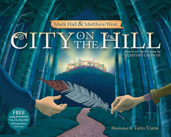 City On A Hill Book (hardcover) - Casting Crowns Online Store